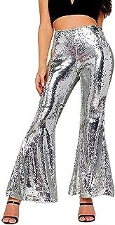 High Waist Jeans Elasticity Denim Wide Leg Palazzo Pants Women Casual Trousers