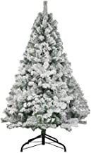 Christmas Tree Snow Flocked PVC Pine Tree Holiday Decor Easy Installation (Size : 1.8m/6ft)