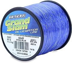 HI-SEAS Men's Grand Slam Bluewater Line 25 lb (11.3 kg) Test .020 in (0.50 mm) Diam, Ocean Blue, 535 yd (489 m)