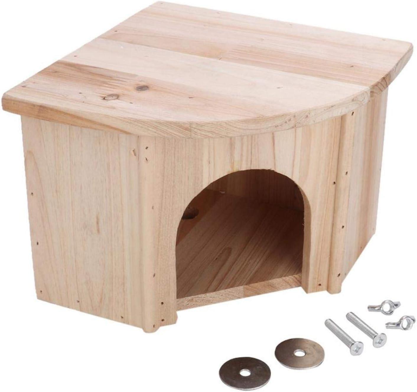 Yunduo Max 68% OFF Wooden Pet House DIY Hamster Popularity Shel Chinchilla Small Animal