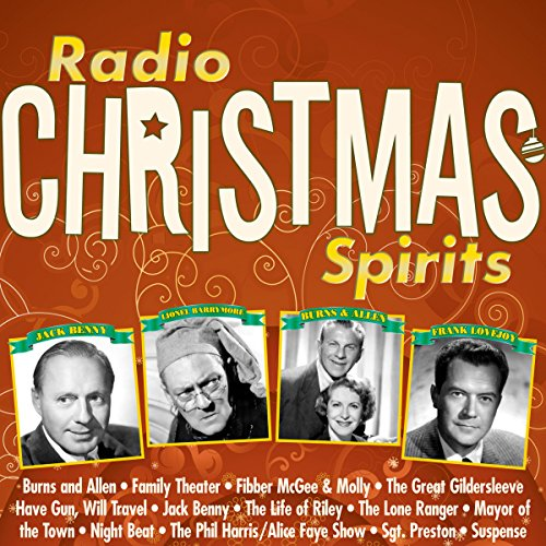 Radio Christmas Spirits audiobook cover art