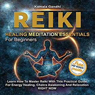 Reiki Healing Meditation Essentials for Beginners audiobook cover art