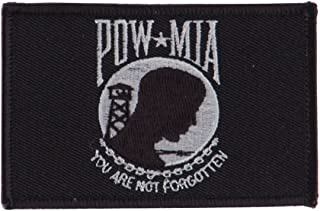 Pow Mia Embroidered Military Patch - Pow Mia 3 W01S14E
