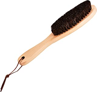 Wooden Brush with Soft Horse Mane Remove Hair Dust for Clothes Suits Coats Shoes Jacket Furniture Car Mat Pet Hair,Clothes Brush Shoes Brush Coat Brush Suit Brush Garment Brush Lint Brush