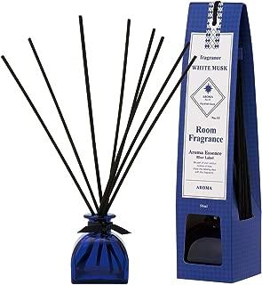 ブルーラベル ルームフレグランス ホワイトムスク 50ml(芳香剤 リードディフューザー 魅惑的で洗練された万人に好まれる香り)