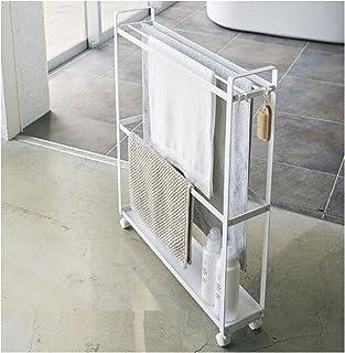 EEUK Étagères de rangement coulissantes avec roulettes, 3 niveaux pour cuisine, salle de bain, buanderie