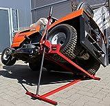 Trutzholm Rasentraktor Heber sehr stabil bis 400kg Aufsitzmäher Rasenmäher Hebevorrichtung Heber massive Ausführung mit...