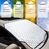 WeFine Car Windscreen Frost Cover Heavy Duty Windscreen Frost Protector Snow Ice Frost Sun UV Dust Water...