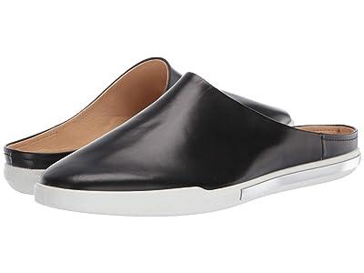 ECCO Simpil II Slide (Black Calf Leather) Women