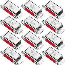 Kastmagneten Jiayi 12 Stuks kastdeurmagneet Trek magnetische deurvanger Roestvrijstalen magnetische vergrendelingen voor k...