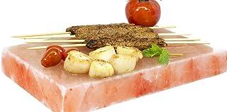 AGT Sal Mundos Sal Barbacoa piedra 20X 20X 4Cm Ideal Para Parrilla de Barbacoa Carne Pescado Huevos–Bandeja Himalayan * directamente Proveedor de Pakistán