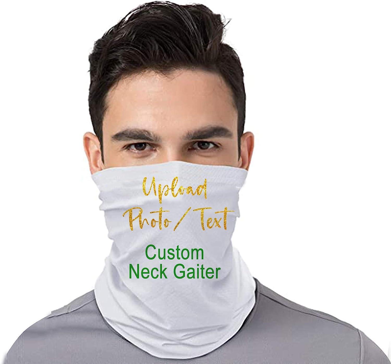 Custom Neck Gaiter 3D Print Adjustable Face Cover Unisex Geometrical Pattern Bandanas Neck Warmer