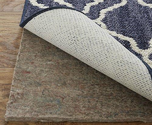 Mohawk Home rutschfeste Teppichunterlage aus Filz und Latex, 0,6 cm dick, 122 x 183 cm, Braun