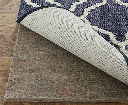 Mohawk Home Dual Surface Felt and Latex Non Slip Rug Pad, 5'x7', 1/4 Inch Thick, Safe for Hardwood Floors and All Surfaces
