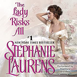 The Lady Risks All audiobook cover art