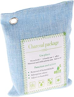 Perfk Bamboo Charcoal Air Purifying Bag, 200g Natural Air Freshener Bags, Closet Freshener, Car Air Purifier, Shoes Odor E...
