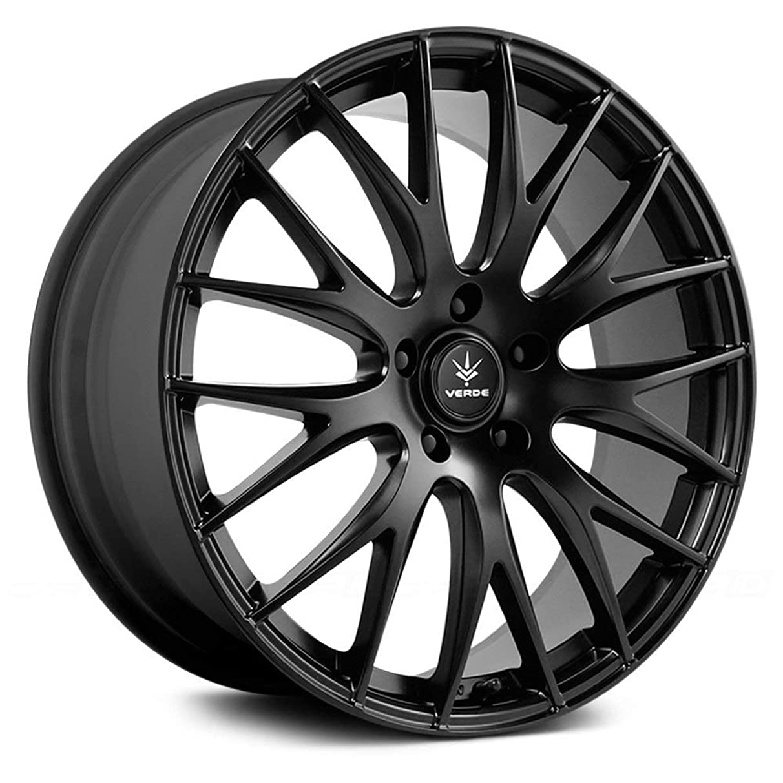 Verde Custom Wheels Saga Wheel with Satin Black Finish (17x7.5