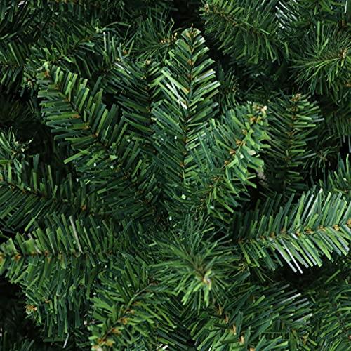 albero di natale bianco 150 cm Miss Cheering Decorazioni per la casa del Partito Decorazioni Pre-Illuminate 120 cm 150cm 180 cm 210cm Bianco Verde nevicata Artificiale Albero di Natale (Color : Green)