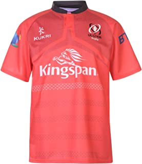 Kukri Ulster Euro Jersey Mens T Shirt Rugby Red Sports Fan Top