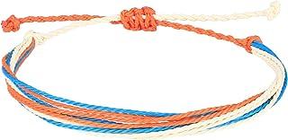 C·QUAN CHI Woven Strand Bracelet for Women String Sead Beaded Wax Rope Braided Adjustable Bracelet Handmade
