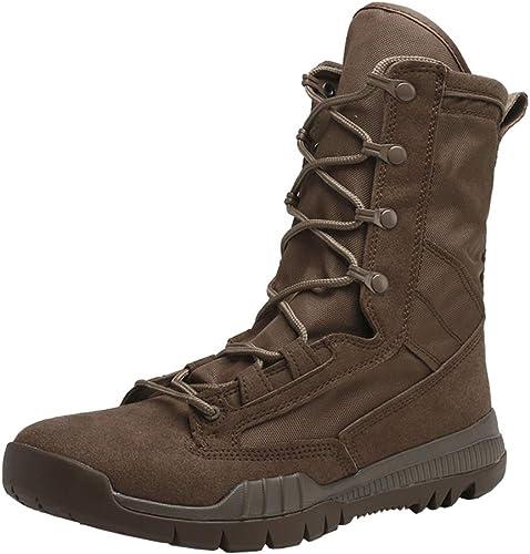 zapatos botas para Caminar de Hombre Martin botas,botas Militares de Cuero Punky botas Altas Casuales,botas Militares góticas botas Exteriores Antideslizantes Impermeables al Aire Libre