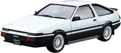 Aoshima Bunka Kyozai 1./2..4.. Le modele en plastique voiture Toyota AE8.6. Sprinter Trueno GT-APEX '8.5