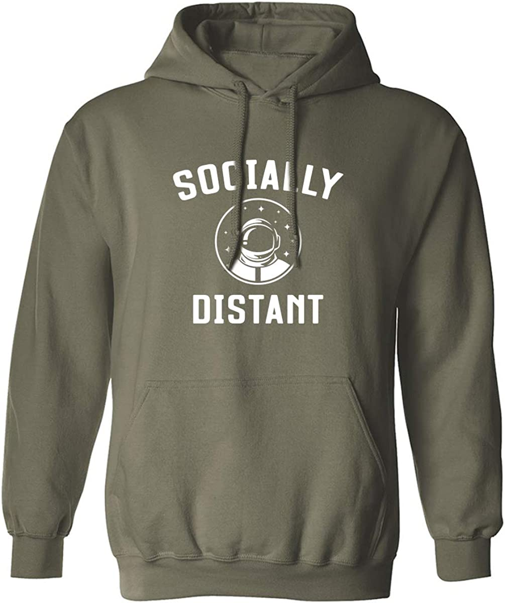 Socially Distant Adult Hooded Sweatshirt