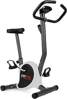 comprar comparacion FITFIU Fitness BEST 100 Bicicleta Estática Spinning ultracompacta, sin resplado, 5 kg regulable en 8 niveles y pantalla LC...