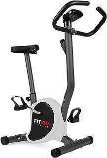 Fitfiu - BEST100  Bicicleta estática plegable, gris, tamaño S