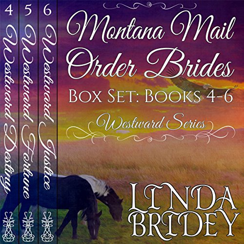 Montana Mail Order Bride Box Set, Books 4-6 audiobook cover art