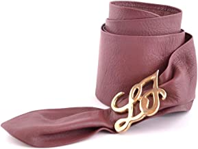 Liu Jo Women's Mcbi24733 Burgundy Leather Belt