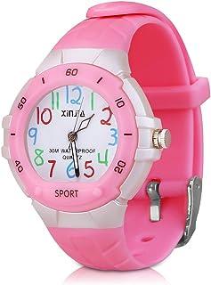 116 Kids Watch Waterproof,Children Cartoon Wristwatch Child Silicone Wrist Watches Gift for Boys Girls Little Child - PerSuper