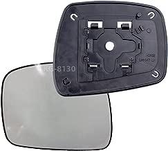 K1AutoParts 1 Left Side Mirror Glass Lens Len For Nissan Navara Frontier D40 Pickup 2005-2013 (US and EU Model 2005-2009)