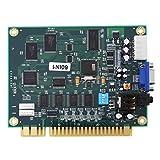 ZJchao Arcade PCB Board, Classic 60 in1 Multicade PCB Board CGA/VGA Output for Arcade Game Machine