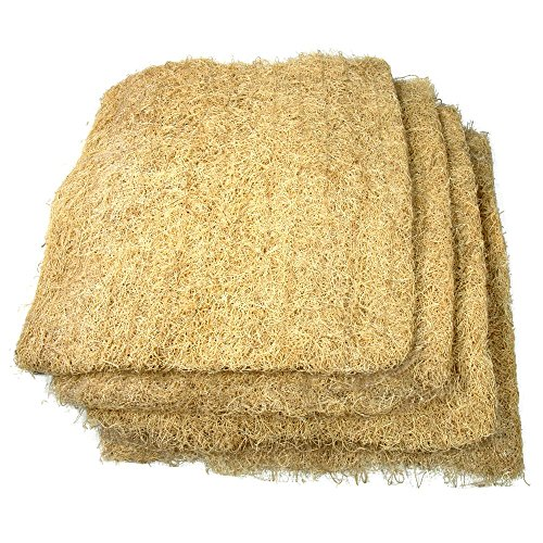 V Furnish Kohinoor Grass Air Cooler Cooling Pads, Wood Wool for air Coolers (36' x 24', Brown) - Set of 3