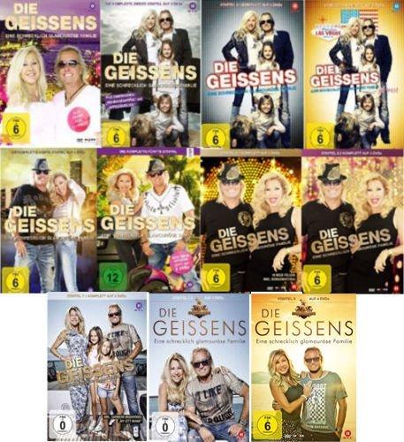 Die Geissens - Eine schrecklich glamouröse Familie: Staffel 1-8 (32 DVDs)