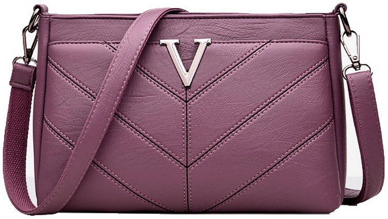 AllhqFashion Women's Fashion Clutch Bag Pu Casual Zippers Shoulder Bags,FBUBD180975