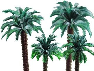 ZN Dollhouse Miniature Coconut Tree Palm for Doll House Decor