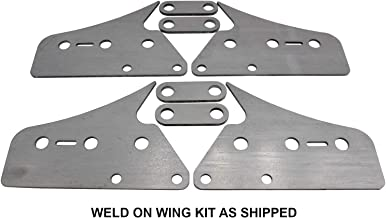 SWAG Off Road Weld On Wings For Harbor Freight Tubing Roller