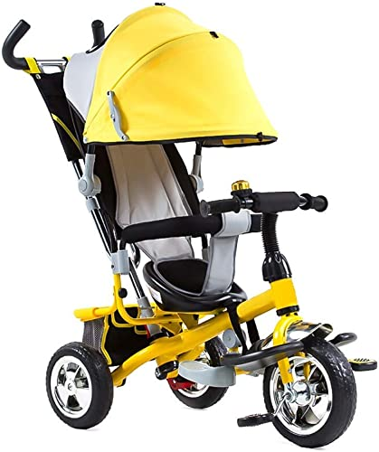 ahorre 60% de descuento Yuany Triciclo, Triciclo Triciclo Triciclo Multifuncional 3 en 1, Triciclo de 1 a 6 años, 3 Colors, 91  98  50 cm (Color  amarillo)  Precio al por mayor y calidad confiable.