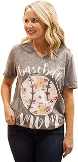 CALAMITY JANE'S Women's S/S Baseball Mom