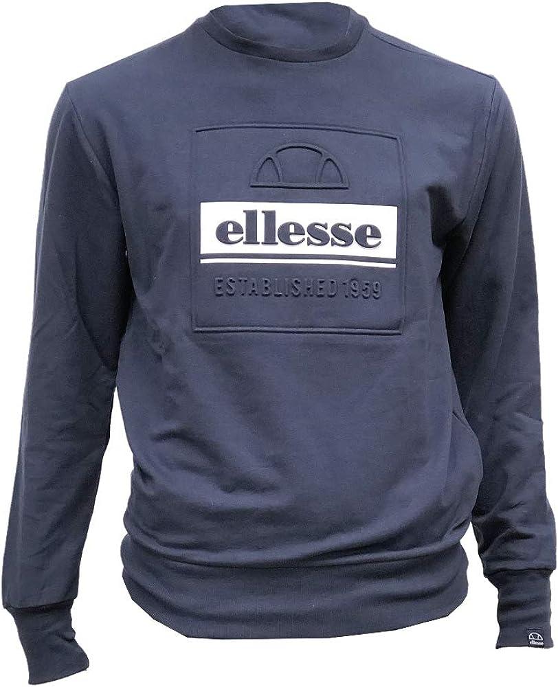 ellesse Men's Catria Sweatshirt, Blue