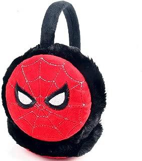 Boys Superhero Earmuffs Soft Plush Padded Knitted Design...