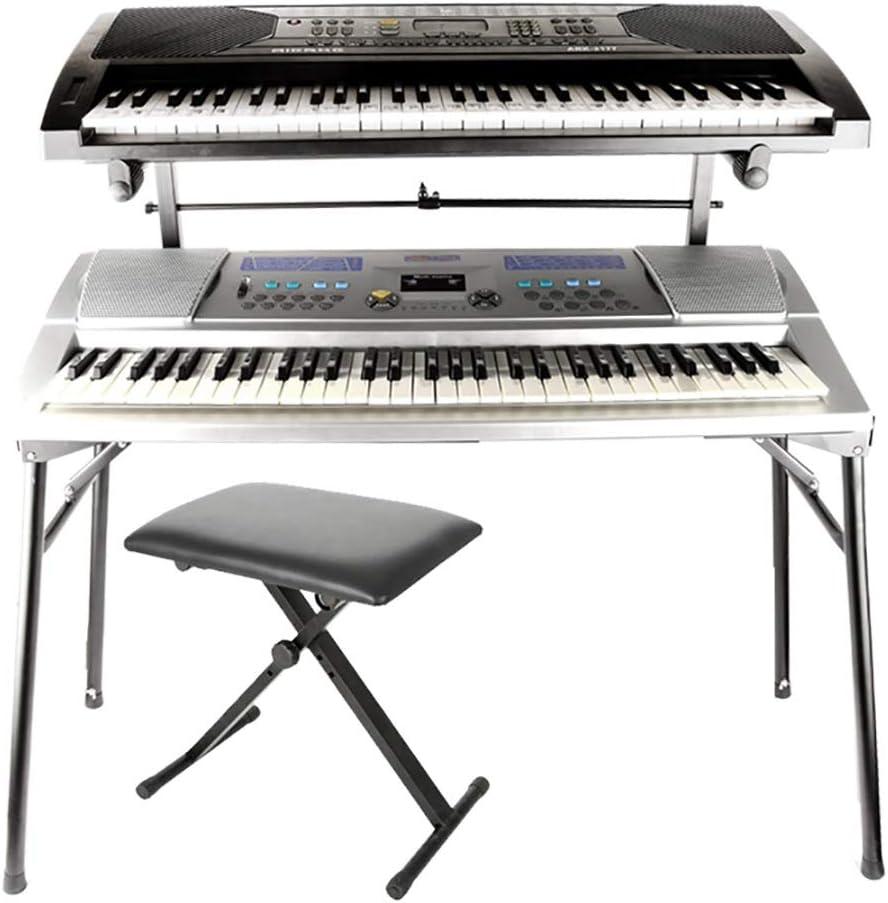 GDGQJRM Soporte de Teclado Soporte Universal para Piano ...