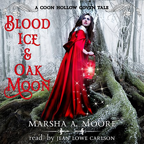 Blood Ice & Oak Moon audiobook cover art