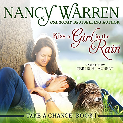 Kiss a Girl in the Rain audiobook cover art