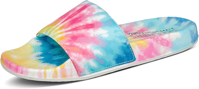 Skechers Women's Pop Ups-#Trendy Slide Sandal