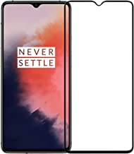 POPIO Tempered Glass for Oneplus 7T (Black) Edge to Edge Full Screen Coverage with Easy Installation Kit