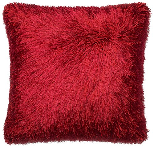 Loloi Loloi-DSETP0245RE00PIL3-Red Decorative Accent Pillow 100% Polyester Cover and Down Fill 22