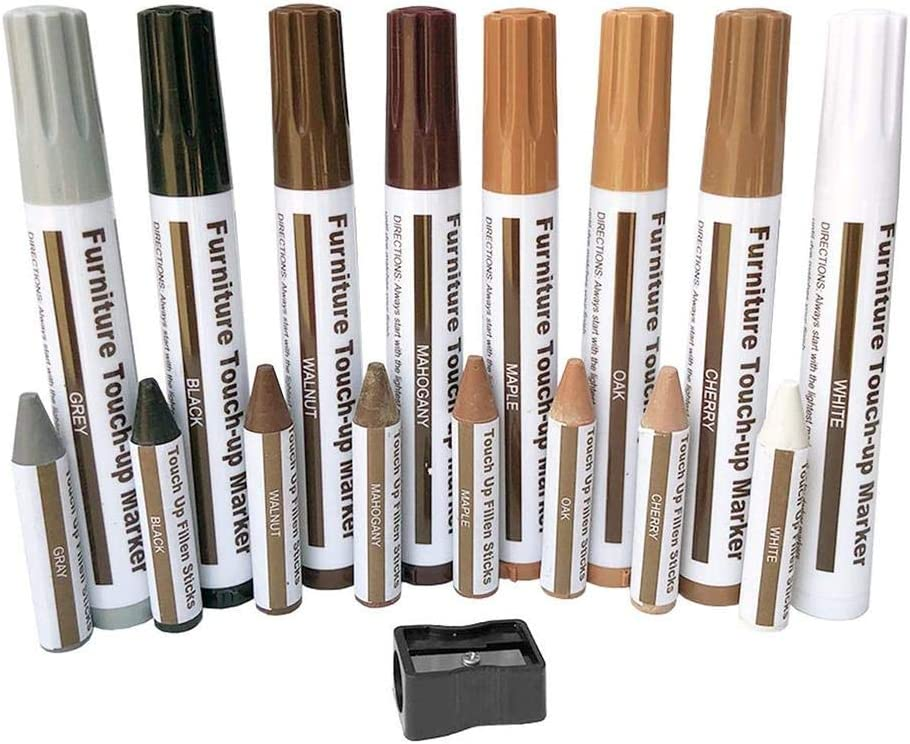 TSY Furniture Markers Touch up Special price for a limited time 17PCS In a popularity Repair Kit Wood